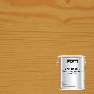 Impregnante a base solvente LUXENS noce chiaro 2.5 L