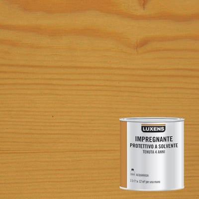 Impregnante a base solvente LUXENS noce chiaro 1 L
