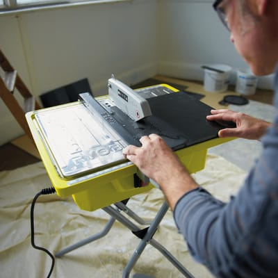 Tagliapiastrelle elettrica RYOBI Ø disco 178 mm, H taglio 33 mm, 500 W
