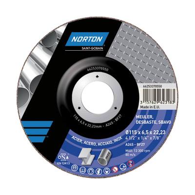 Disco per sbavo NORTON per multiuso Ø 115 mm