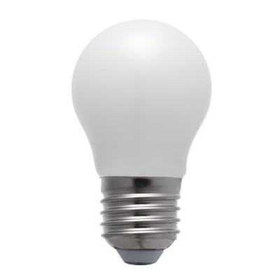 Lampadina LED E27 globo bianco caldo 4.5W = 470LM (equiv 40W) 360° LEXMAN