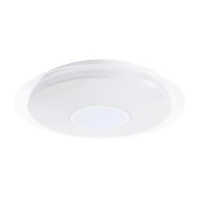 Plafoniera Vizzini bianco, in plastica, diam. 40, LED integrato 25W 1600LM IP20 INSPIRE