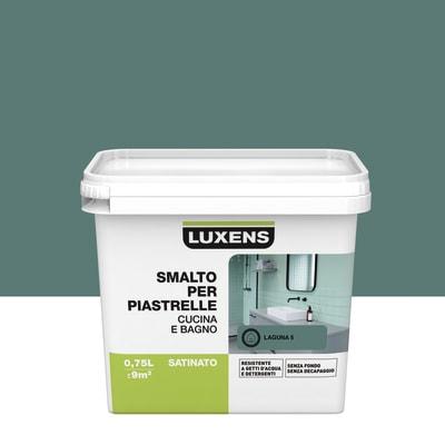 Smalto per piastrelle LUXENS per piastrelle verde laguna 5 0.75 L