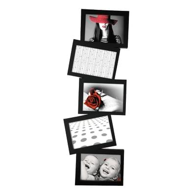 Cornice multifoto Storty nero 5 foto