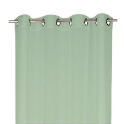 Tenda Argan verde occhielli 140x280 cm