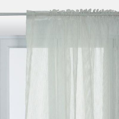 Tenda Giorgia beige fettuccia con passanti nascosti 210 x 320 cm