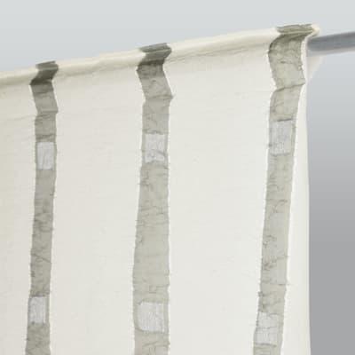 Tenda Eleonora grigio fettuccia 210x290 cm