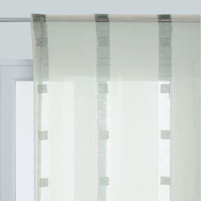 Tenda Eleonora grigio fettuccia 210 x 290 cm
