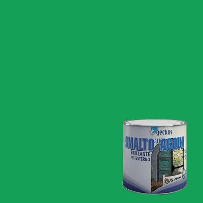 Smalto GECKOS base acqua verde 0.5 L