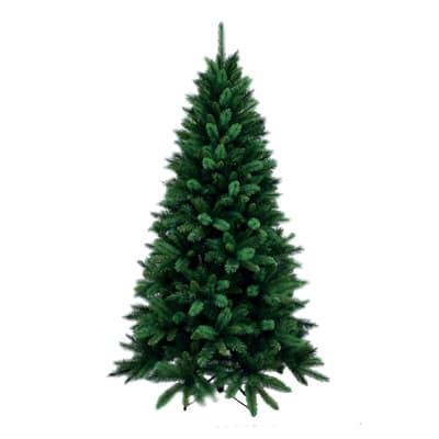 Albero di natale artificiale Livigno verde H 150 cm,