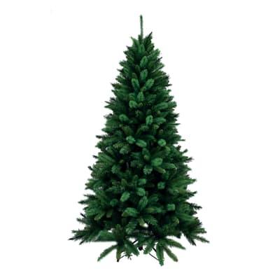 Albero di natale artificiale Livigno verde H 180 cm