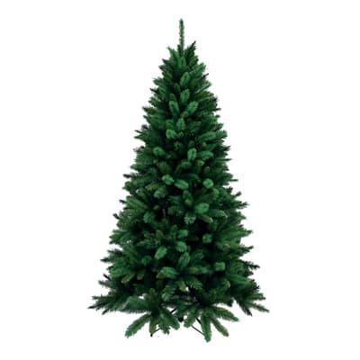 Albero di natale artificiale Livigno verde H 240 cm