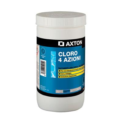 Cloro 4 azioni in pastiglie AXTON 1 kg