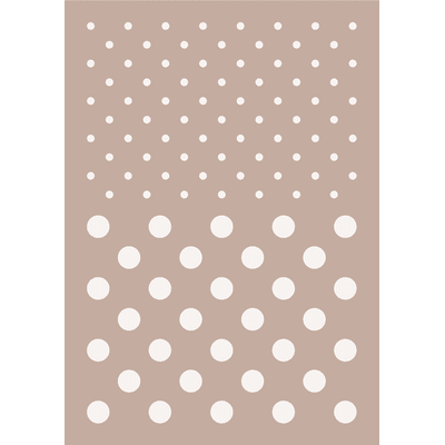 Stencil tema geometrici Pois 21 x 30 cm