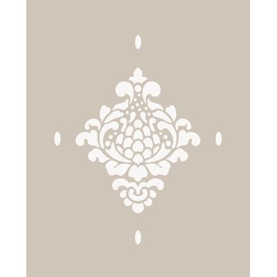 Stencil tema geometrici Floreale 40 x 60 cm