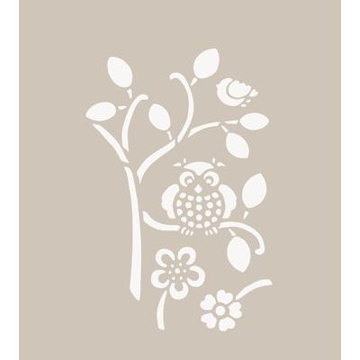 Stencil tema frutti e fiori 40 x 60 cm