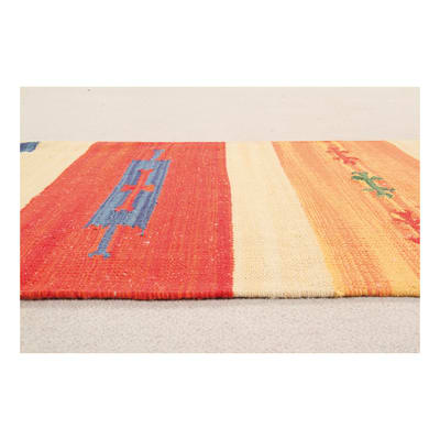 Tappeto Larya jahnu colori assortiti 140x70 cm