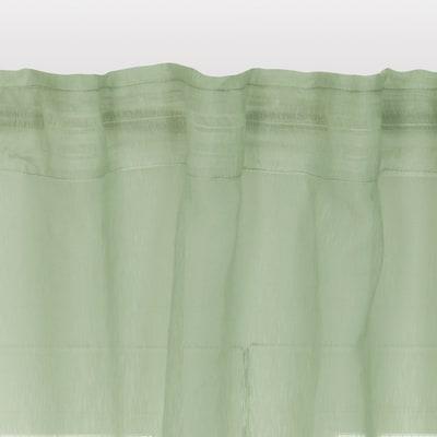 Tenda di pizzo INSPIRE Softy verde tunnel 200x280 cm