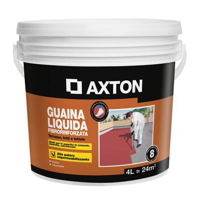 Impermeabilizzante AXTON Guina Luiquida per tetto / parete 4 L