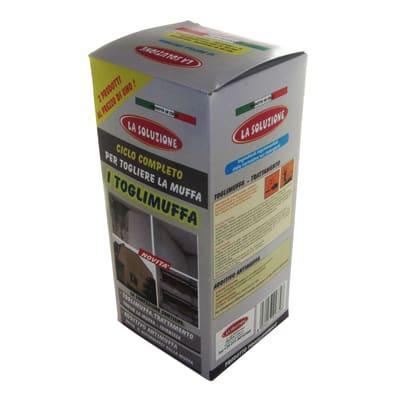 Pulitore antimuffa Toglimuffa ciclo completo spry+additivo 1 L