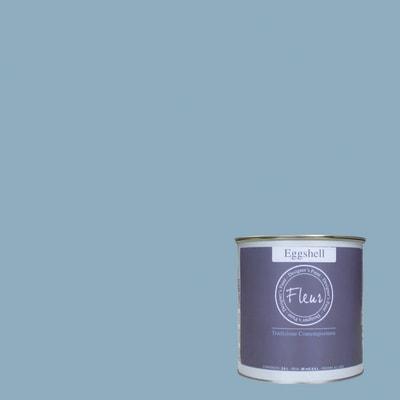 Smalto FLEUR EGGSHELL base acqua azzurro good morning satinato 2.5 L