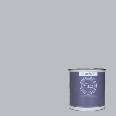 Smalto FLEUR EGGSHELL base acqua all about grey satinato 0.03 L