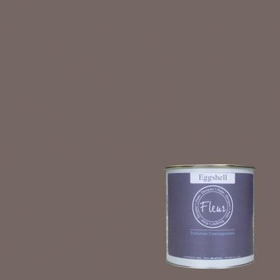 Smalto FLEUR EGGSHELL base acqua marrone chocolate wish satinato 0.75 L