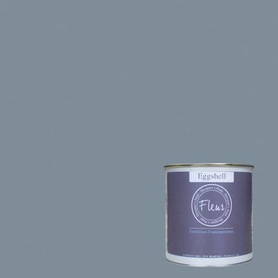 Smalto FLEUR EGGSHELL base acqua grigio french mood satinato 0.75 L