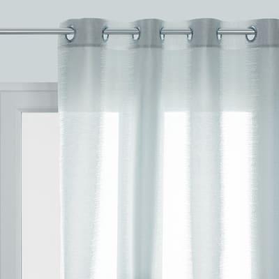 Tenda INSPIRE Diamant grigio occhielli 140 x 280 cm