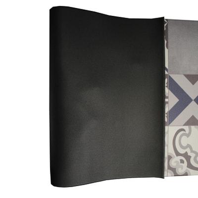 Tappeto Cucina antiscivolo Relax spezie grigio 230x50 cm