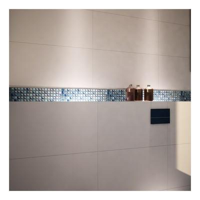 Mosaico Glitter H 30 x L 30 cm blu