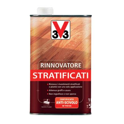 Detergente rinnovatore V33 parquet stratificati 1 l