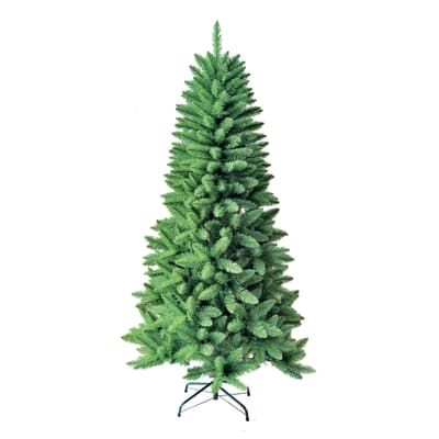 Albero di natale artificiale Appennino verde H 240 cm
