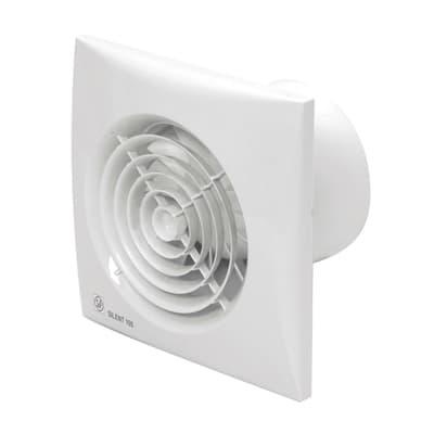 Permanent extractor fan S&P Silent-100 CRZ Ø 100 mm