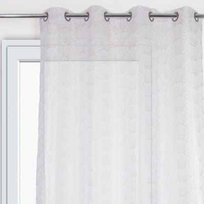 Tenda Ventila bianco occhielli 140 x 280 cm