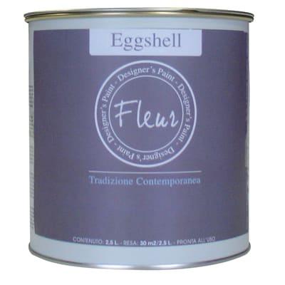Smalto FLEUR EGGSHELL base acqua grigio greige satinato 0.03 L