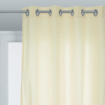 Tenda pronta INSPIRE Sunny crema occhielli 140x280 cm