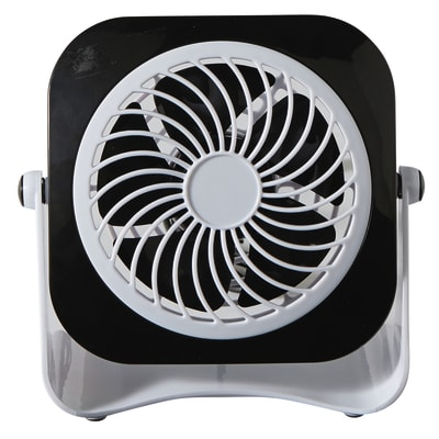 Mini ventilatore EQUATION Yea  nero 3 W Ø 10 cm