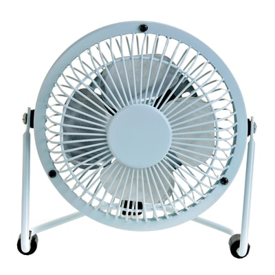 Mini ventilatore EQUATION TX-401D bianco 4.0 W Ø 10.0 cm
