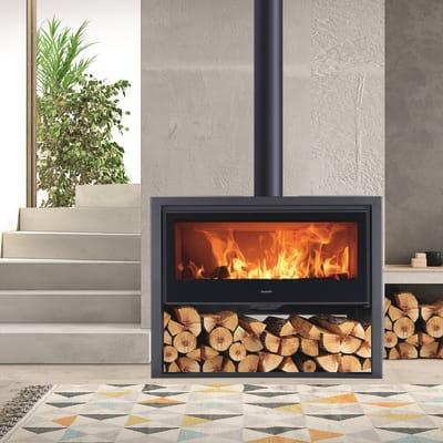 Cucina a legna PANADERO Allegro Ecodesign 9 kW nero