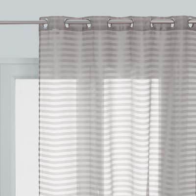Tenda Lyrique grigio occhielli 140 x 280 cm