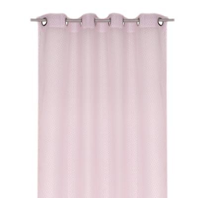 Tenda Maeva rosa occhielli 140 x 280 cm