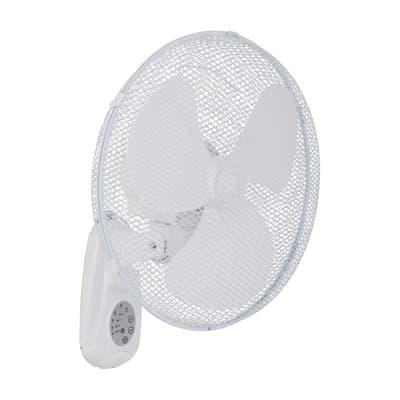 Ventilatore a parete EQUATION Derby bianco 45.0 W Ø 40.0 cm