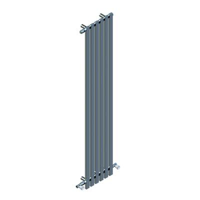Termoarredo DE'LONGHI BOX cromo interasse 4 cm , L 40 x H 180 cm