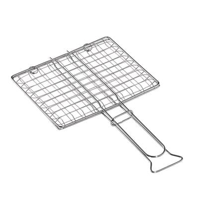 Griglia in acciaio cromato L 22 x P 27 cm