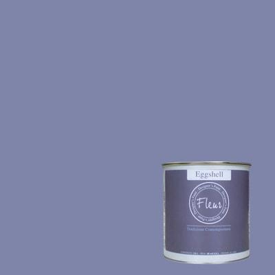 Smalto FLEUR EGGSHELL base acqua viola lavender blue satinato 0.03 L