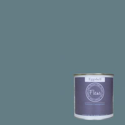 Smalto FLEUR EGGSHELL base acqua blu vanity satinato 0.75 L