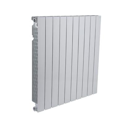 Radiatore acqua calda FONDITAL Modern in alluminio 10 elementi interasse 80 cm