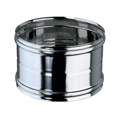 Manicotto Manicotto giunzione inox  Femmina/ femmina Dn 80 mm  in inox 316l (elevata resistenza in condizioni climatiche estreme) Ø 80 mm