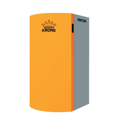 Caldaia a pellet Boiler15 arancio e grigio 13 W